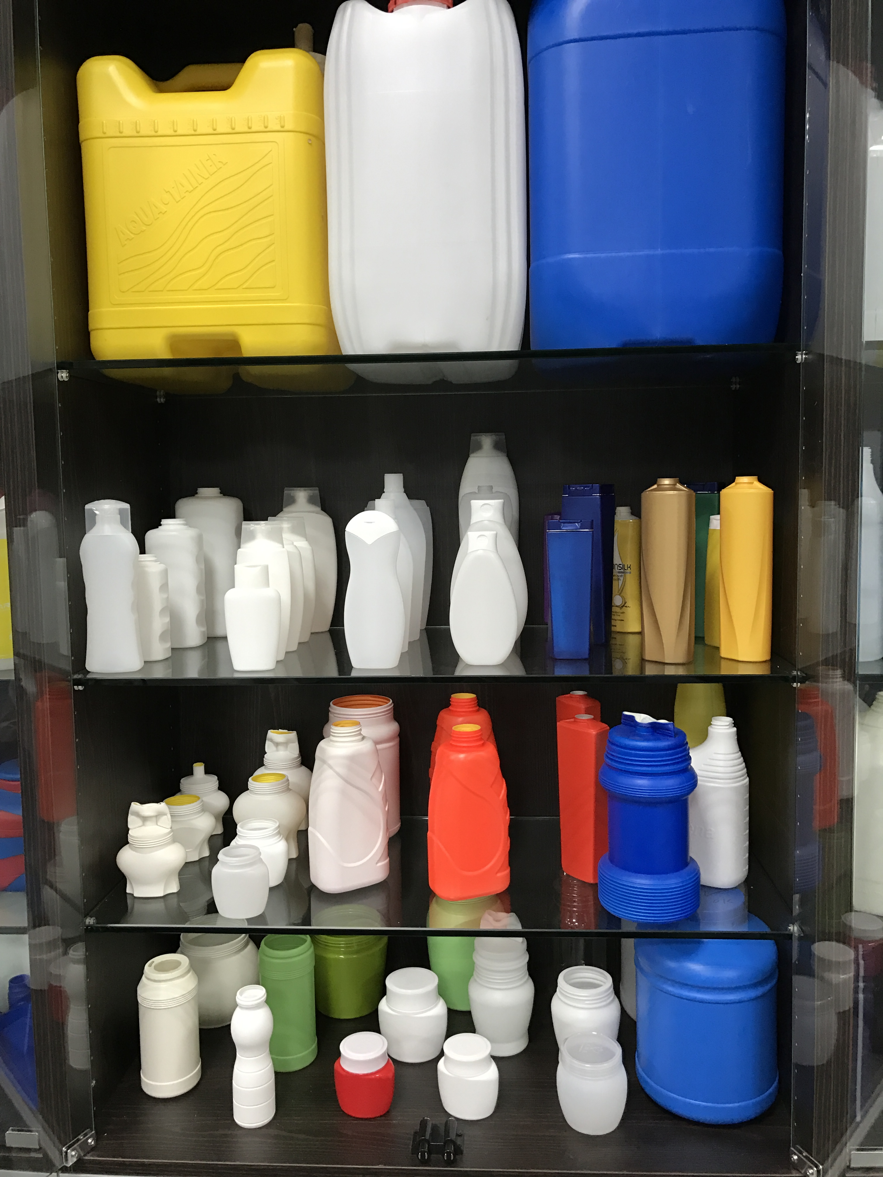New plastic products