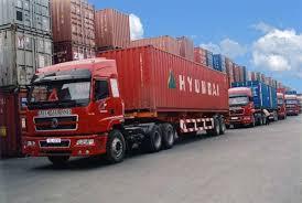 Xe đầukéo - vận tải container