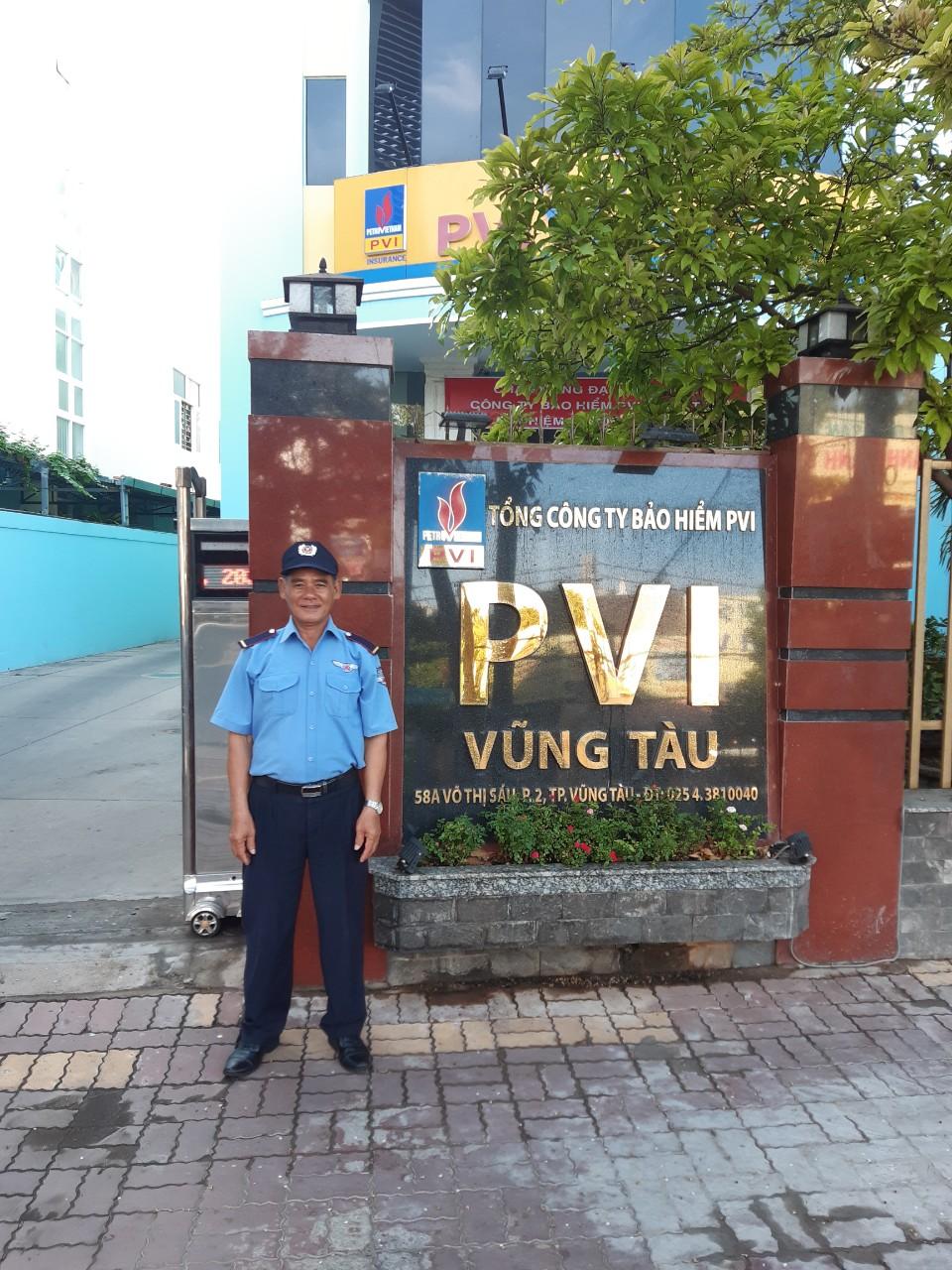 Bảo vệ Tập đoàn dầu khí PVI Vũng Tàu